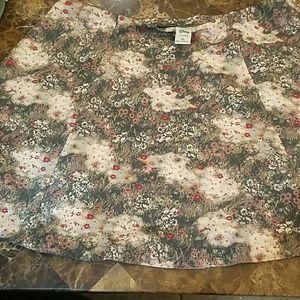Disney skirt XL NWOT